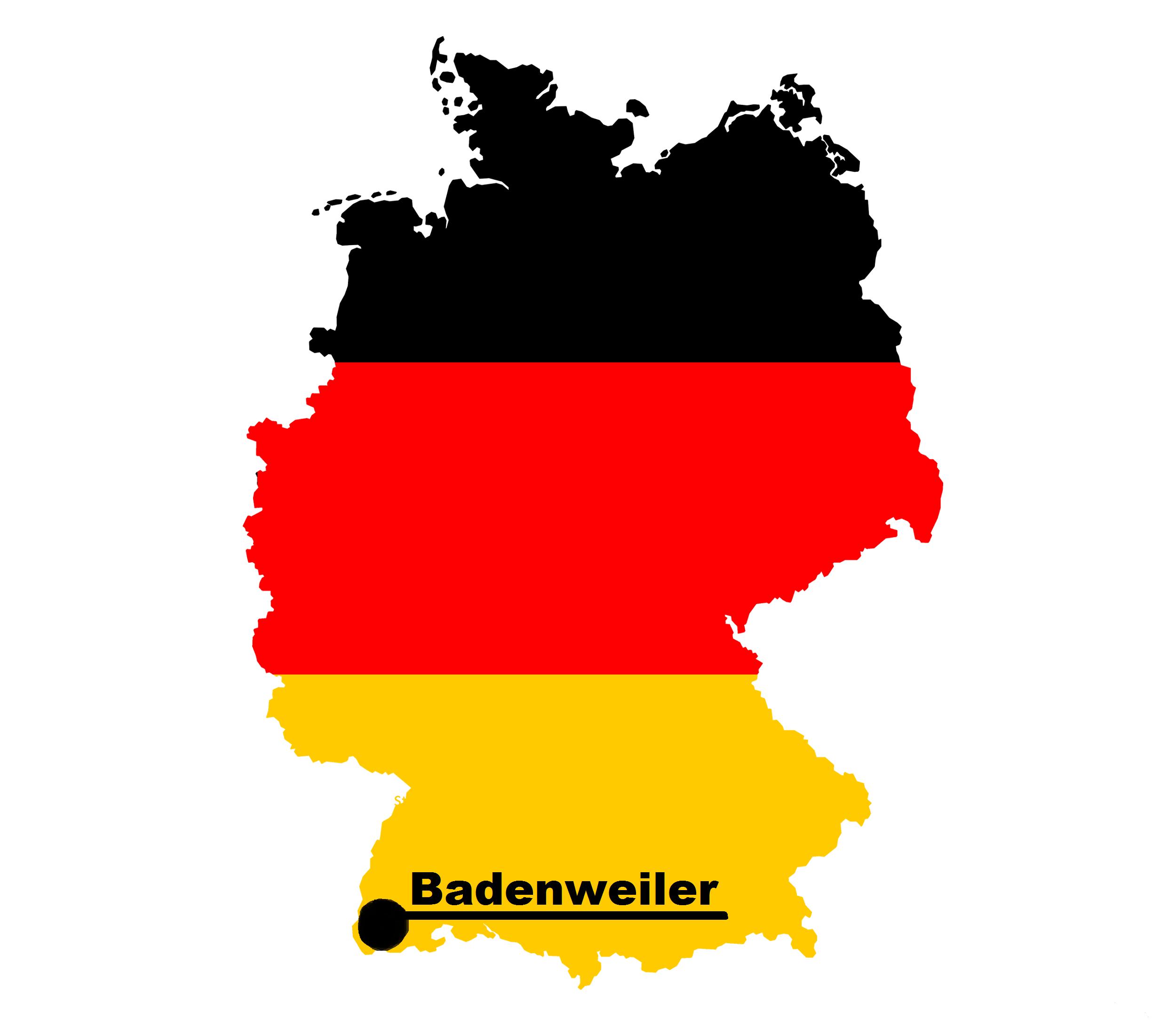 Lageplan von Badenweiler